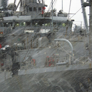 Weather Gale Ship