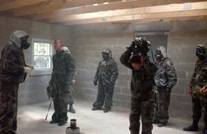 Nuclear, Biological and Chemical (NBC) warfare training